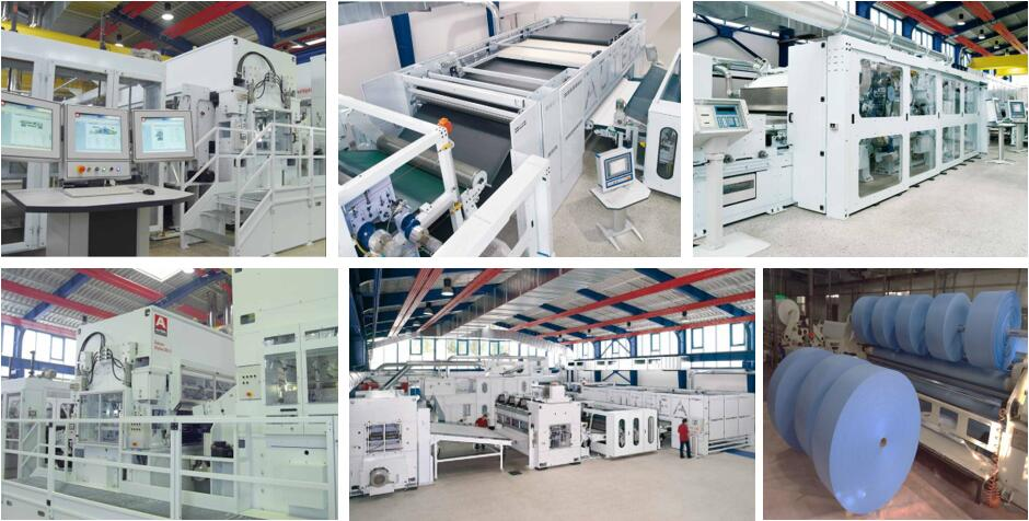nonwoven wipe factory spunlace